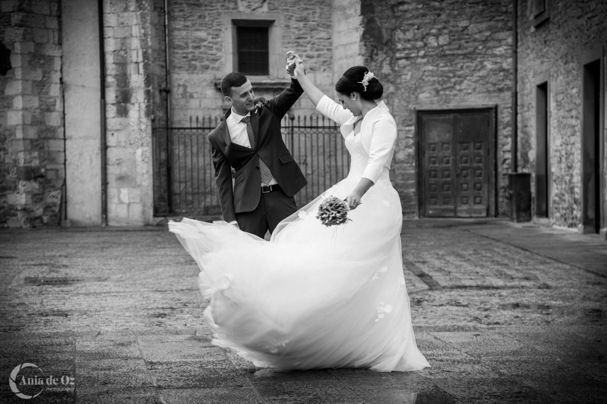 Dancing in the rain – Boda Leire y Pablo
