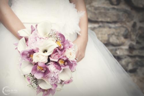 fotografía de boda elegante en alava