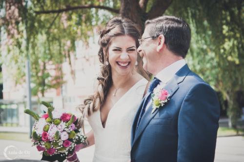 fotografía de bodas llena de emoción en vitoria