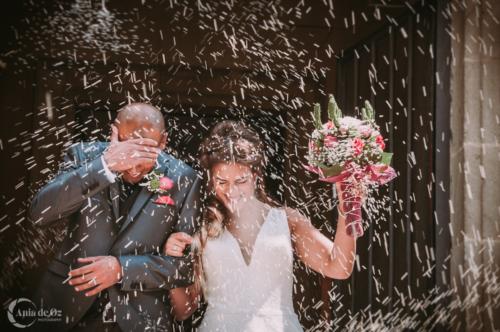 reportaje de bodas con emoción en vitoria