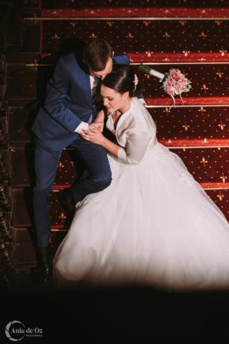 fotografía de boda elegante en vitoria