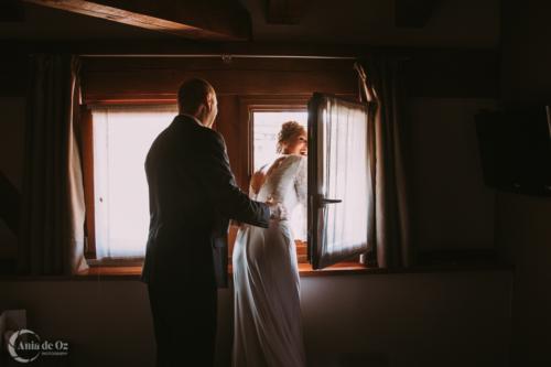 fotografía de bodas llena de emoción en guipuzcoa