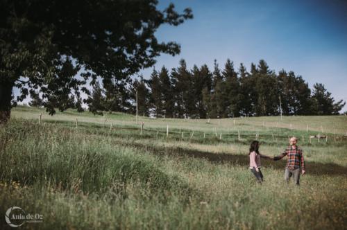 Sesiones de pareja naturales y divertidas en Euskadi