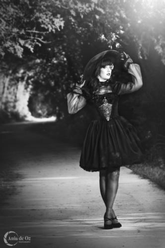 fotografía de moda alternativa y fantasía en vitoria
