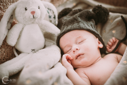 fotógrafo sesiones recién nacido en vitoria