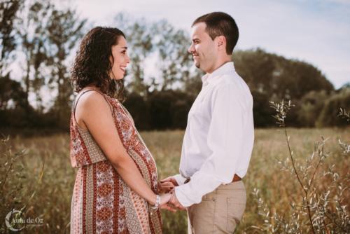 reportajes fotografía pareja embarazo en vitoria